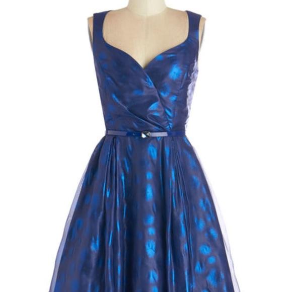 Night Blue Dresses